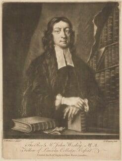 John Wesley, by James Watson, printed by  Robert Sayer, after  J. Williams - NPG D14216