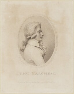 Luigi Marchesi, by Luigi Schiavonetti, after  Richard Cosway - NPG D14219