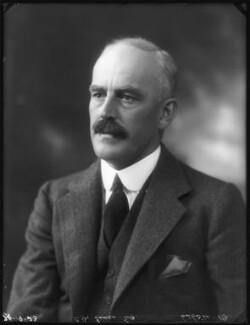 Sir Charles Alexander Innes, by Bassano Ltd - NPG x122672