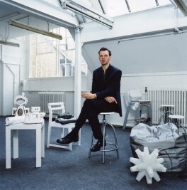 Tom Dixon, by Trevor Ray Hart, April 1999 - NPG  - © Trevor Ray Hart