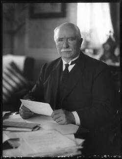 William Ferguson Massey, by Bassano Ltd, 5 October 1923 - NPG x122695 - © National Portrait Gallery, London