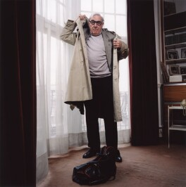 Eric Sykes, by Trevor Ray Hart, 15 March 2001 - NPG x126061 - © Trevor Ray Hart