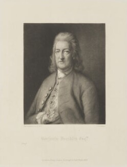 David Middleton, by George Sanders, published by  Henry Graves & Co, after  Thomas Gainsborough - NPG D14221
