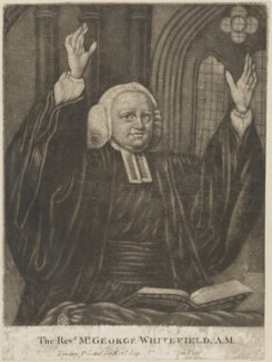 George Whitefield, published by Robert Sayer, after  Nathaniel Hone - NPG D14225