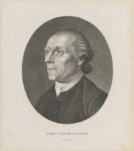 Johann Caspar Lavater, by Rhodes - NPG D14227