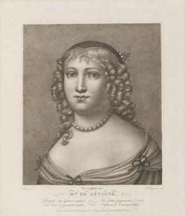 Marie, Marquise de Sévigné (née de Rabutin-Chantal), by Parfait Augrand, after  Jean Petitot - NPG D14229