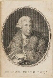 George Keate, by John Keyse Sherwin, after  John Plott - NPG D14233