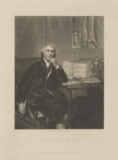 John Hunter, published by Henry Palser, after  Sir Joshua Reynolds - NPG D14236
