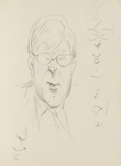 Alan Bennett, by Cecil Beaton, 1969 - NPG D17947(109) - © National Portrait Gallery, London
