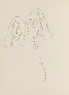 Yoko Ono; John Lennon, by Cecil Beaton - NPG D17947(122)