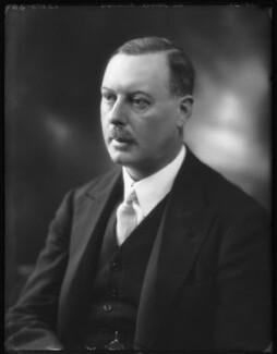 Sir Horace George Montagu Rumbold, 9th Bt, by Bassano Ltd - NPG x122710