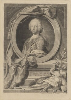 Prince Charles Edward Stuart, by Sir Robert Strange - NPG D14257