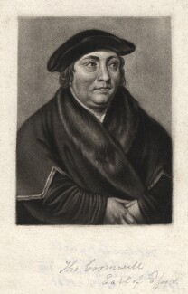 Unknown sitter formerly known as Thomas Cromwell, Earl of Essex, by Richard Earlom, after  Unknown artist - NPG D1869