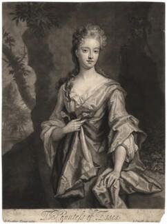 Mary Capel (née Bentinck), Countess of Essex, by John Smith, after  Sir Godfrey Kneller, Bt - NPG D1874