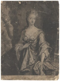 Mary Capel (née Bentinck), Countess of Essex, by John Smith, after  Sir Godfrey Kneller, Bt - NPG D1875