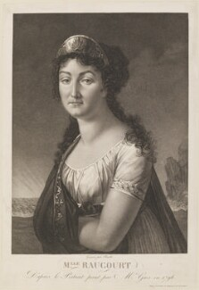 Françoise Raucourt, by Louis Charles Ruotte, after  Antoine-Jean Gros - NPG D14261