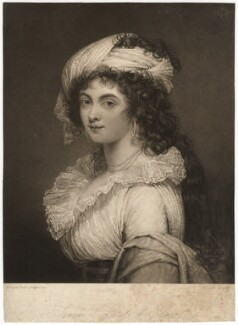 Sarah Capell-Coningsby (née Bazett), Countess of Essex, by Charles Turner, after  Robert Fagan - NPG D1840