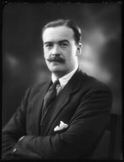 Sir Timothy Calvert Eden, 8th Bt, by Bassano Ltd - NPG x122743