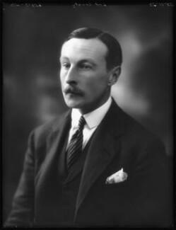 Luke Henry White, 4th Baron Annaly, by Bassano Ltd - NPG x122745