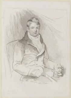 Edward Moor, by Mary Dawson Turner (née Palgrave) - NPG D17969