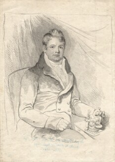 Edward Moor, by Mary Dawson Turner (née Palgrave), 1810 - NPG D17970 - © National Portrait Gallery, London