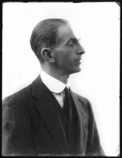 George Master Byng, 9th Viscount Torrington, by Bassano Ltd - NPG x122757