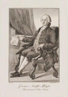 Johann Adolf Hasse, by D.K. Bonatti, after  Bosio - NPG D14267