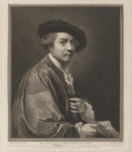Sir Joshua Reynolds, by and published by John Keyse Sherwin, after  Sir Joshua Reynolds - NPG D14270