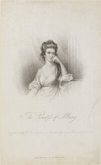 Louisa, Countess of Albany, by William Read, published by  Richard Bentley, after  Ozias Humphry - NPG D14279