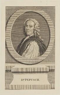 Johann Christoph Pepusch, published by John Hinton - NPG D14283