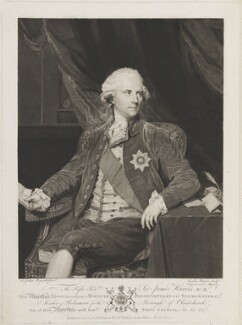 James Harris, 1st Earl of Malmesbury, by and published by Caroline Watson, after  Sir Joshua Reynolds - NPG D14294