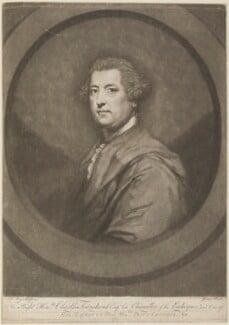 Charles Townshend, by John Dixon, published by  William Wynne Ryland, after  Sir Joshua Reynolds, published 21 December 1770 (1765-1767) - NPG D14297 - © National Portrait Gallery, London