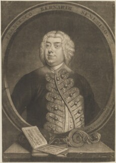 Francesco Bernardi ('Senesino'), by Alexander van Aken, after  Thomas Hudson - NPG D14301