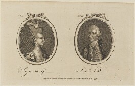'Signiora G- and Lord B-' (Signora Gabrielli), published by Archibald Hamilton Jr - NPG D14304