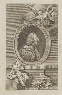 George Lyttelton, 1st Baron Lyttelton, by Unknown engraver - NPG D14306