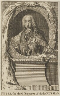 Peter III, by Unknown engraver - NPG D14309