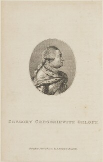 Count Grigorii Grigorievich Orlov, published by John Stockdale - NPG D14311