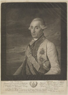 Sir Samuel Greig, by and published by James Walker, after  Dimitri Grigorievich Levickij - NPG D14313