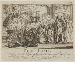'The Idol', by Unknown engraver - NPG D14315