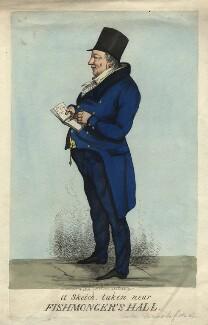 William Crockford, by Thomas Howell Jones - NPG D17980
