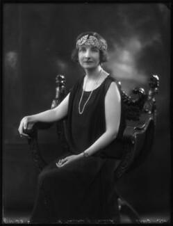 (Ellen) Rosamond Mary (née Lindsay), Countess of Carrick, by Bassano Ltd - NPG x122764