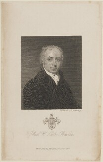 William Lisle Bowles, by William Humphrys, published by  William Pickering - NPG D14321