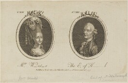 'Mrs W-nt-r and The Earl of H-h', published by Archibald Hamilton Jr - NPG D14323