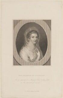 Elizabeth Pierrepont (née Chudleigh, later Hervey), Duchess of Kingston, by J. Cook, published by  Richard Bentley - NPG D14325