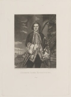 George Edgcumbe, 1st Earl of Mount Edgcumbe, by Samuel William Reynolds, after  Sir Joshua Reynolds, published 1820 (1748) - NPG D14329 - © National Portrait Gallery, London