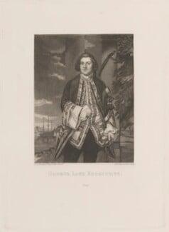 George Edgcumbe, 1st Earl of Mount Edgcumbe, by Samuel William Reynolds, after  Sir Joshua Reynolds - NPG D14329