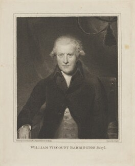 William Wildman Barrington, 2nd Viscount Barrington, by Charles Knight, after  Sir Thomas Lawrence, (circa 1791) - NPG D14330 - © National Portrait Gallery, London