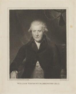 William Wildman Barrington, 2nd Viscount Barrington, by Charles Knight, after  Sir Thomas Lawrence, (circa 1791) - NPG D14330 - © National Portrait Gallery, London