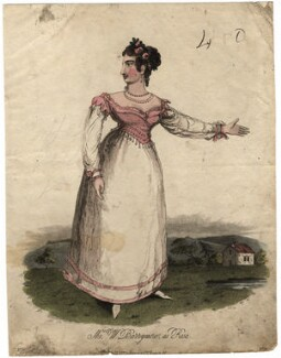 Ann Barrymore (née Adams) as Rosa, by 'P.R.', published by  Hodgson & Co - NPG D17986