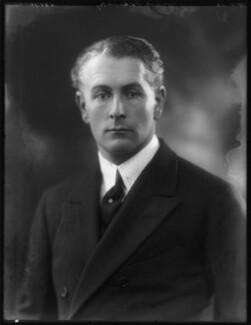 Lord George Hugo Cholmondeley, by Bassano Ltd - NPG x122775